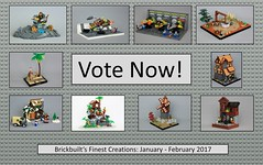 Brickbuilt's Finest Creations: January - February 2017 (-soccerkid6) Tags: lego moc brickbuilt finest creations public vote choice