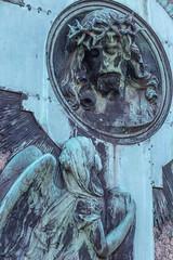 """Vater, ich befehle meinen Geist in deine Hände! Und als er das gesagt hatte, verschied er (wpt1967) Tags: 20012019 angel canon100mm canon6d christusamkreuz düsseldorf eos6d engel friedhof grabmal kreuz nordfriedhof christ cross graveyard graveyardcemeterycimetière""""camposanto""""camposantocimit wpt1967 graveyardcemeterycimetière""""camposanto""""camposantocimiteroгробищеkirkegårdkalmistuhautausmaaνεκροταφείοביתקברותpemakamanreilig墓地gravlundcmentarzcemitériocimitirkyrkogårdtemetőmezarlıkpokopališčuhřbitovbegraafplaats"""