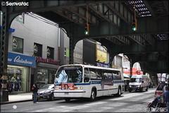 Novabus RTS - New York City Bus / MTA (Metropolitan Transportation Authority) n°4947 (Semvatac) Tags: semvatac photo bus tramway métro transportencommun novabus rts l17796 newyorkcitybus mta metropolitantransportationauthority b 46 broadway queens newyork étatsunis