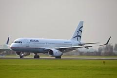 Aegean Airlines SX-DNB Airbus A320-232 Sharklets cn/6832 @ Aalsmeerbaan EHAM / AMS 04-11-2017 (Nabil Molinari Photography) Tags: aegean airlines sxdnb airbus a320232 sharklets cn6832 aalsmeerbaan eham ams 04112017