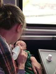 "Mommy Feeds Sam on the Polar Express • <a style=""font-size:0.8em;"" href=""http://www.flickr.com/photos/109120354@N07/46389657622/"" target=""_blank"">View on Flickr</a>"