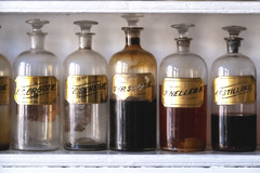 Medicines of Old (Rob Shenk) Tags: alexandria apothecary bottles glassbottles glass medicine pharmacy vintage medical oldtownalexandria virginia
