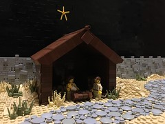 Jesus' Birth (Legomania.) Tags: jesusbirth jesus birth christian christianthemedmoc christmas christmasscene scene legoscene stable manger mary joseph christianscene lego legobuild legobricks legofig legominifigure legominifig legofigure legomoc moc