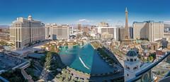 Bellagio Panoramic View (Las Vegas Strip)