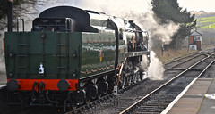 STEAMED UP (chris .p) Tags: gloucestershire toddington uk nikon d610 railway engine steam march 2019 capture station view