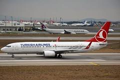 """""""Kemah"""" Turkish Airlines TC-JHL Boeing 737-8F2 Winglets cn/40976-3870 @ LTBA / IST 24-11-2018 (Nabil Molinari Photography) Tags: kemah turkish airlines tcjhl boeing 7378f2 winglets cn409763870 ltba ist 24112018"""
