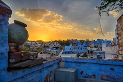 Enjoying the sunset while sipping some hot Chai (The Elephant's Tales Photography) Tags: jodhpur rajasthan india travelphotography