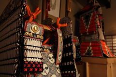 Japanese armour (Teruhide Tomori) Tags: japan japon kyoto tradition culture 日本 京都 伝統 文化 japanesearmour 兜 武具 鎧
