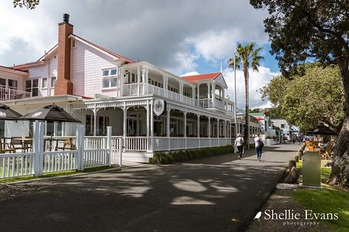 Duke of Marlborough Hotel, Russell, Bay of Islands