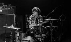 Nik Jacobson of Strange Eclipse (Mark ~ JerseyStyle Photography) Tags: markkrajnak jerseystylephotography stoneponyanniversary lowlight strangeeclipse ronsantee littlevicious asburypark stonepony february2018 2018 music thebatteryelectric thevansaders winter2018 drums drummer nikjacobson
