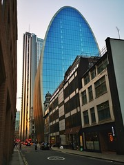 Sunset in the City of London.. (35mmMan) Tags: london cityoflondon squaremile architecture huaweip20pro vertical urban skyscrapers sunset canofham canofspam