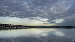 Lake Washington Sunrise Too (BobbyFerkovich) Tags: lake washington sunrise bristol apartments renton landing water clouds serene