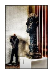 It's me (Jean-Louis DUMAS) Tags: autoportait autoportrait statue art artistic artiste artist selfi self portrait selfportrait sculpture sculpteur giacometti portraiture