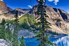 Moraine Lake Banff Canada (John Andersen (JPAndersen images)) Tags: banff borderfx canon morainelake park summer