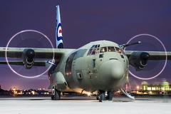 Hercules C.5 (Przemyslaw Burdzinski) Tags: lockheed martin hercules c5 royal air force zh883 raf northolt 14032019