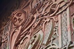 Terracotta Exterior (PLawston) Tags: uk britain england surrey north downs compton watts chapel terracotta