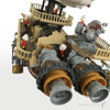 Imperial-Airship-Bricktania-Harris-Bricks-003 (HarrisBricks) Tags: lego moc custom steampunk ship airship zeppelin
