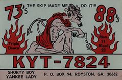 20002878 (myQSL) Tags: cb radio qsl card 1970s