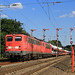 Good Bye E40 (20) (Klaus Z.) Tags: eisenbahn kbs 395 meppen formsignale bahnhof br 140 güterzug autozug db cargo sommer