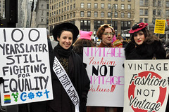 100years (greenelent) Tags: womensmarch foleysquare newyork nyc women protest notrump