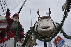 Spirit of Morgan City (ensign_beedrill) Tags: neworleanstrip2019 spiritofmorgancity shrimping shrimpingboat santaclaus alligators gators whitealligators christmas cajunchristmas art sculpture elves leeromaire