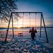 Cold sunset - Helsinki, Finland - Travel photography