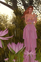 Schoen Chauveau (meshedgal) Tags: lana doux izzie catwa maitreya sweethome dress pink ginger girl fashion freckles beauty blogger flower secondlife sl avatar avi secondlifefashion