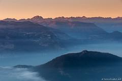 Sunset over Iseo Lake (Matteo Rinaldi.it) Tags: iseolake monteisola lagodiseo montagne mountain sunset tramonto