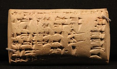 Cuneiform tablet (calmeilles) Tags: london england unitedkingdom ashurbanipal britishmuseum assyria ancienthistory archaeology middleeast nineveh