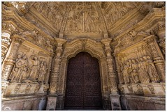 """Arte mayúsculo"" (Gerkraus) Tags: astorga catedral fachada canon piedra stone caminodesantiago barroco escultura leon"