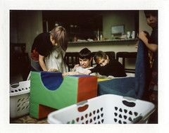 20190216_19205 (AWelsh) Tags: kid kids boy boys child children twin twins evan jacob joshua elliott film polaroid instant scan epson v700 fp100c peel apart packfilm fp3000b mamiya universal press mup 10028 sekor andrewwelsh sanantonio tx
