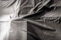 canvas tarpaulin photographed at Sloss Furnaces (gerrydanielphotography) Tags: alabama birmingham slossfurnaces usa unitedstates industrial nationalhistoriclandmark canvas tarpaulin blackwhite