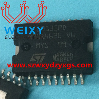 L9135PD Commonly used vulnerable driver chip for Fiat ECU