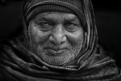 Old Man (geeta_maurya) Tags: bw blackandwhite oldman rinkles yamunaghatstreet morningstories people naturallight texture places morningshot dramatic human streetphotography fineart fineartphotography art artistic travel incredibleindia beauty geetamaurya delhi india