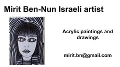Mirit Ben-Nun gallery participates in an exhibition paintings drawings art arts paint painters (female art work) Tags: material no borders rules by artist strong from language influence center art participates exhibition leading powerful model diferent special new world talented virtual gallery muse country outside solo group leader subject vision image drawing museum painting paintings drawings colors sale woman women female feminine draw paint creative decorative figurative studio facebook pinterest flicker galleries power body couple exhibit classic original famous style israel israeli mirit ben nun