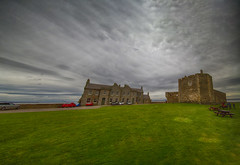 """panorama with dramatic skies, Blackness Castle, a 15th-century fortress, Blackness, Firth of Forth, Lothian, Scotland (grumpybaldprof) Tags: """"blacknesscastle blackness """"nearbo'ness"""" """"westlothian"""" scotland """"firthofforth"""" 1440 """"sirgeorgecrichton"""" linlithgow castle harbour port monument fortress """"fineart"""" striking artistic interpretation impressionist stylistic style contrast shadow bright dark black white illuminated mood moody atmosphere atmospheric panorama dramaticsky canon 7d """"canon7d"""" sigma 1020 1020mm f456 """"sigma1020mmf456dchsm"""" """"wideangle"""" ultrawide"""