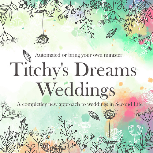 Titchys Dreams Wedding Logo