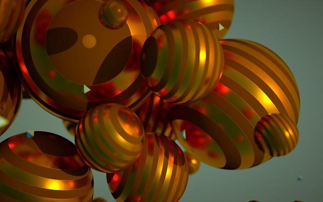 Обои шары, круги, полет, размеры, полосатые картинки на рабочий стол, фото скачать бесплатно
