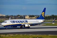 Ryanair EI-FIB Boeing 737-8AS Winglets cn/44692-5257 @ LMML / MLA 13-01-2018 (Nabil Molinari Photography) Tags: ryanair eifib boeing 7378as winglets cn446925257 lmml mla 13012018