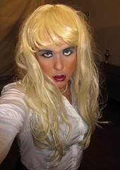 Pout........... (Irene Nyman) Tags: irenenyman dutch crossdress crossdresser irene nyman tranny tgirl transgirl stilettoes pumps skirt blueeyes cutie babe blonde xdresser mtf transvestite cute holland businesssuit portrait travestiet travestie xdress cd tv pout secretary pearlnecklace