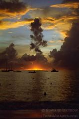 Sunset, Store Bay, Tobago (formaimages) Tags: sunset beach cloud ocean caribbean tobago trinidad tropical