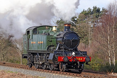 4144 GWR Class 2-6-2T Large Prairie (Roger Wasley) Tags: 4144 gwr class 262t large prairie tank engine svr severn valley railway great western british railways heritage preserved preservation steam locomotive trains