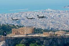 F-4E Phantom II AUP HAF (belas62) Tags: hellenicairforce phantom greece athens acropolis parthenon fighterjet airplane lowpass