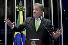 Plenário do Senado (Senado Federal) Tags: bandeiranacional plenário senadoralvarodiaspodepr sessãonãodeliberativa brasília df brasil bra