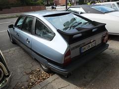 Citroen CX 25 GTI Turbo 2 1987 (Zappadong) Tags: stadtpark revival hamburg 2018 citroen cx 25 gti turbo 2 1987 zappadong oldtimer youngtimer auto automobile automobil car coche voiture classic classics oldie oldtimertreffen carshow