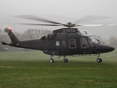 G-GETU AgustaWestland 169 Helicopter (Jetheli Ltd) (Aircaft @ Gloucestershire Airport By James) Tags: cheltenham helipad ggetu agustawestland 169 helicopter jetheli ltd egbc james lloyds