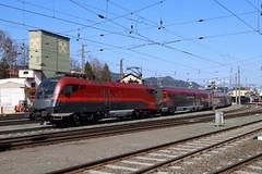 ÖBB 1116 207-2 Railjet, Kufstein (TaurusES64U4) Tags: öbb 1116 railjet