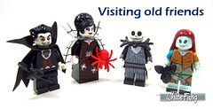 Visiting old friends (WhiteFang (Eurobricks)) Tags: lego minifigures cmfs collectable walt disney mickey characters licensed design personality animated animation movies blockbuster cartoon fiction story fairytale series magic magical theme park medieval stories soundtrack vault franchise review ancient god mythical town city costume space