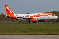 Easyjet / A320 / OE-IVK / LFRS 03 (_Wouter Cooremans) Tags: nte nantes spotting spotter avgeek aviation airplanespotting easyjet a320 oeivk lfrs 03 sticker