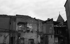Mirrors (songhula) Tags: canon ae 1 black white ilford pan ketmere 100 50mm ruins architecture mirror